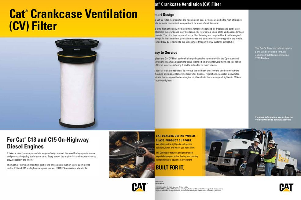 Cat Crankcase Ventilation (CV) Filter