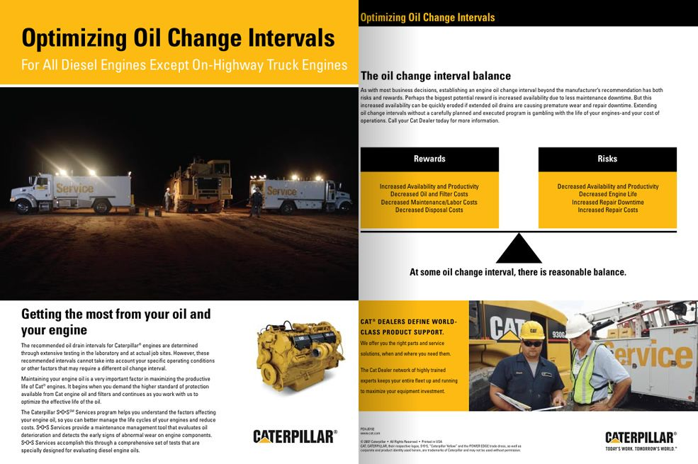 Optimizing oil change intervals