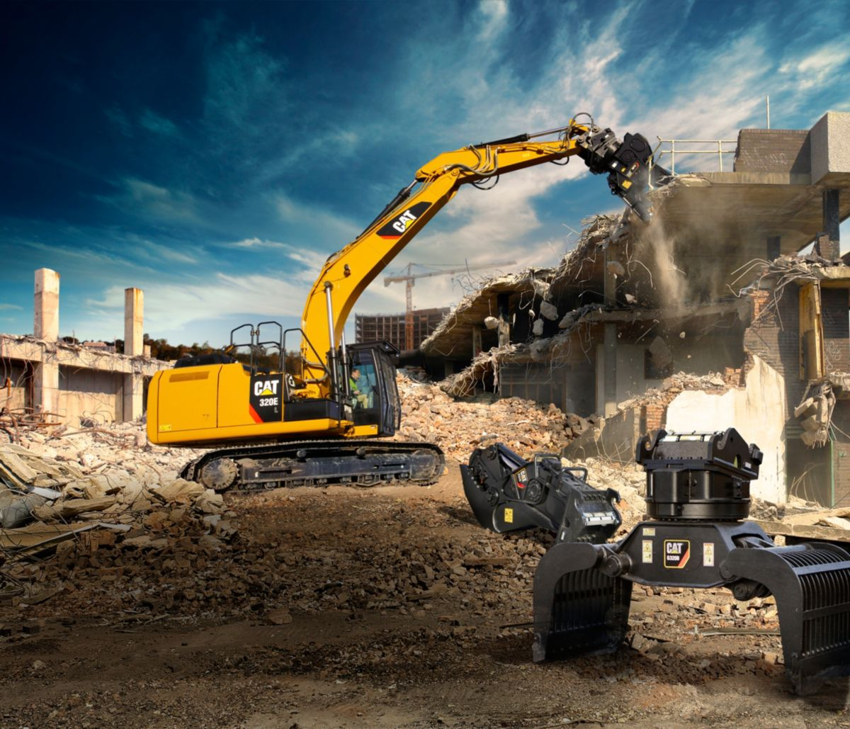 "New Cat Work Tools Add Versatility to the ""Business End"" of the Machine"