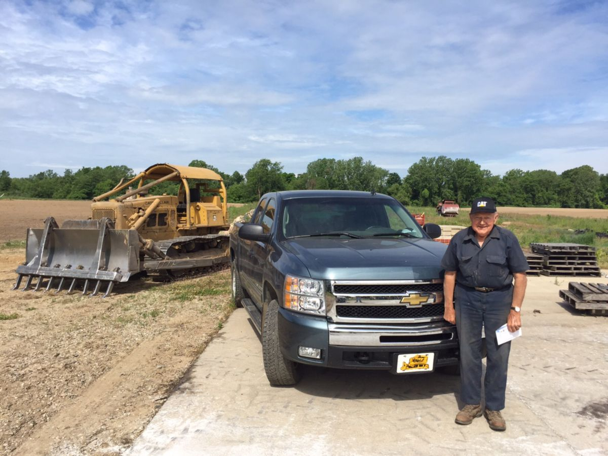 Henry Schinske of Henry's Custom Dozer Service is coming up on his 60th anniversary of operating Cat<sup>®</sup> dozers .