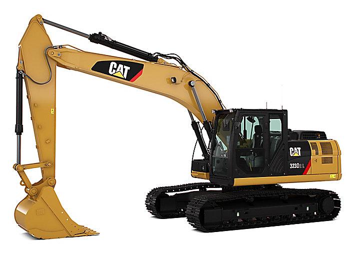 323D2 L Medium Hydraulic Excavator