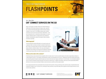 Cat® Fleet Advisor Predicts Preventable Failure of Third-Party Component
