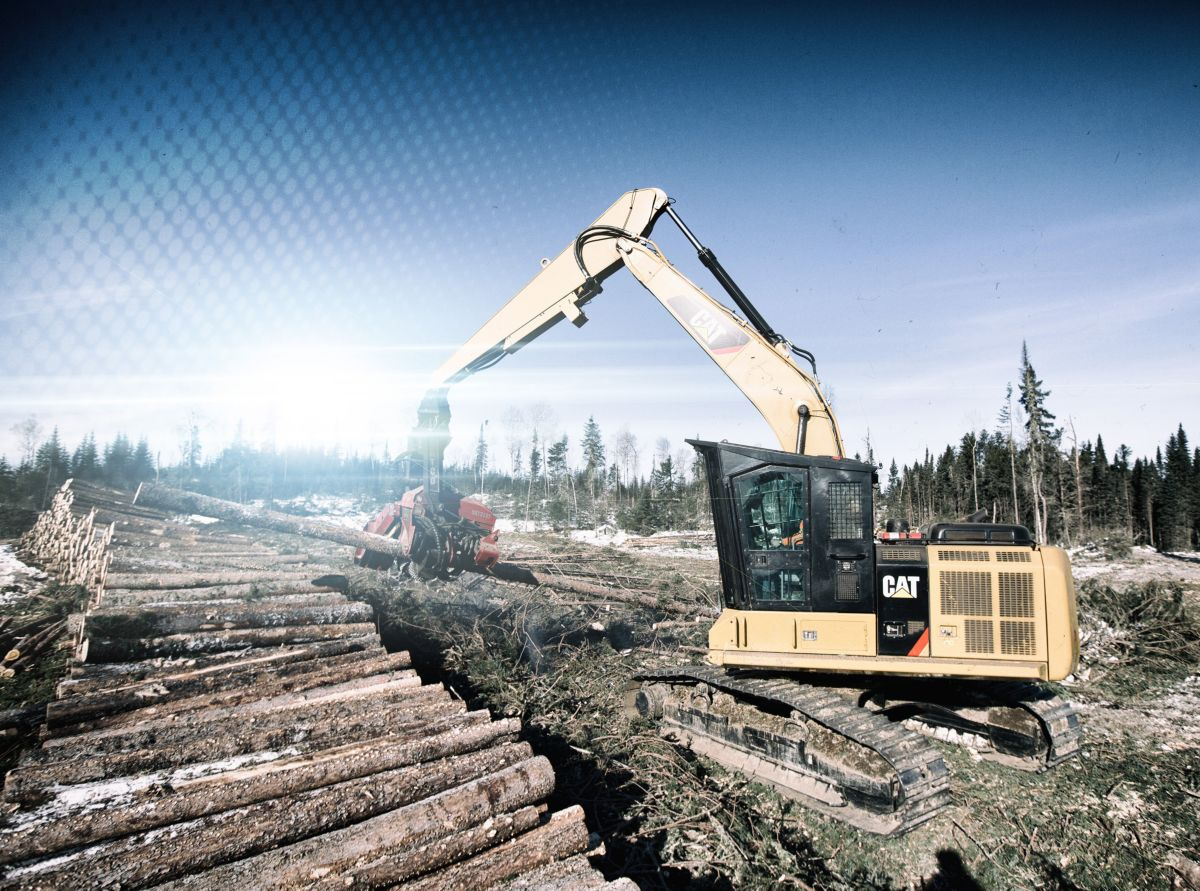 Cat® 538 & 558 Forest Machines