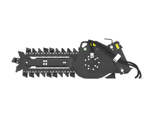 T6B Manual Sideshift - Trenchers