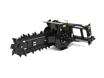 T6B Manual Side Shift - Trenchers