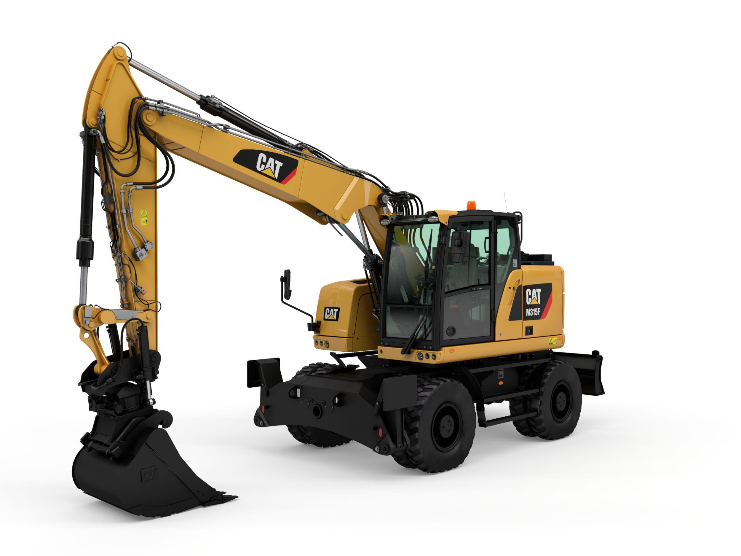 M315F Wheeled Excavator