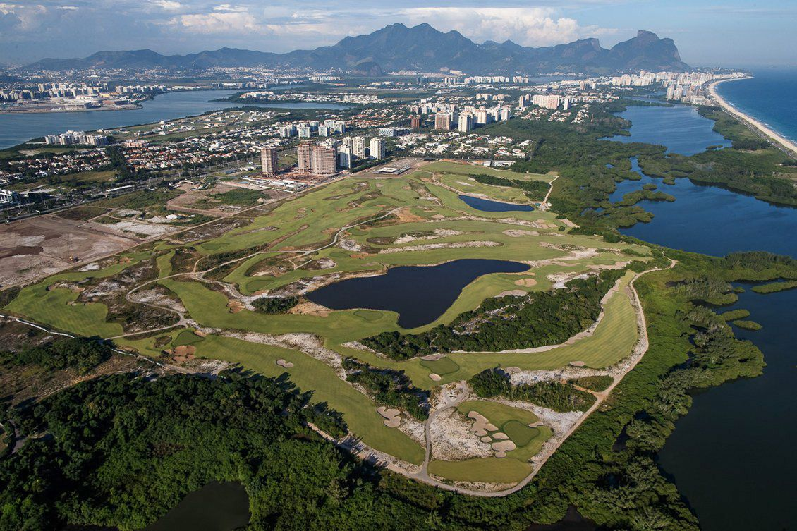 Cat Machines Help Bring Golf Back to Rio
