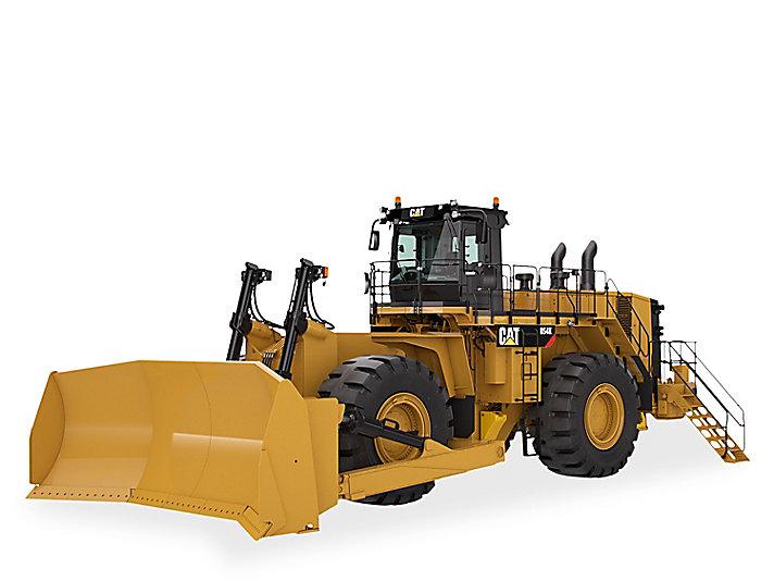 Tractor topador de ruedas 854K