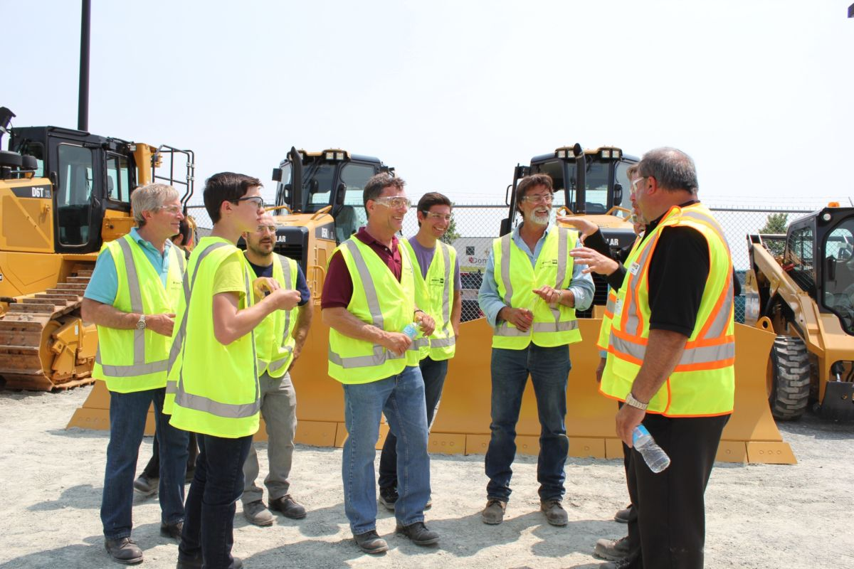 "Members of History Channel's hit show, ""The Curse of Oak Island,"" went on a ""shopping spree"" at Cat® dealer Atlantic Cat. The team chose a 336 excavator, 420 backhoe, D5 dozer and generator – all of which were featured prominently throughout the show's third season."