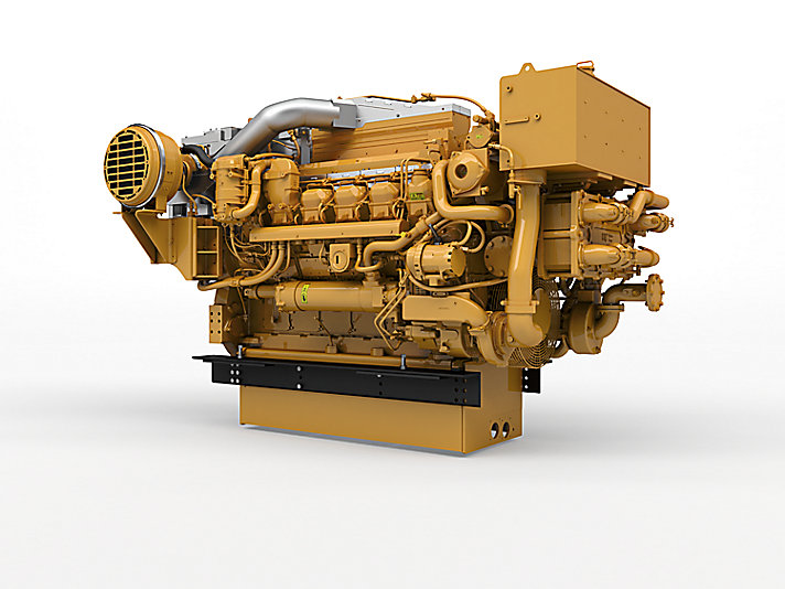 Cat 3512e marine propulsion engine u s epa tier 4 for General motors marine engines