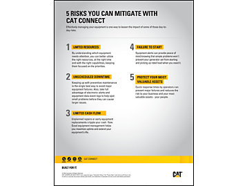 5 Risks You Can Mitigate by Utilizing Cat Connect