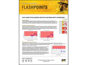 Cat Asset Intelligence Detects Fleetwide Dirty Condensor