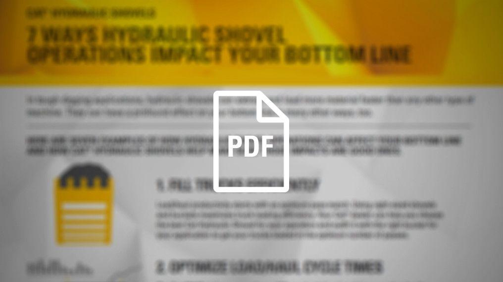 7 Ways Shovel Operations Impact Your Bottom Line
