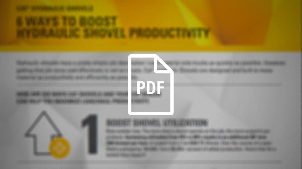 6 Ways to Boost Hydraulic Shovel Productivity