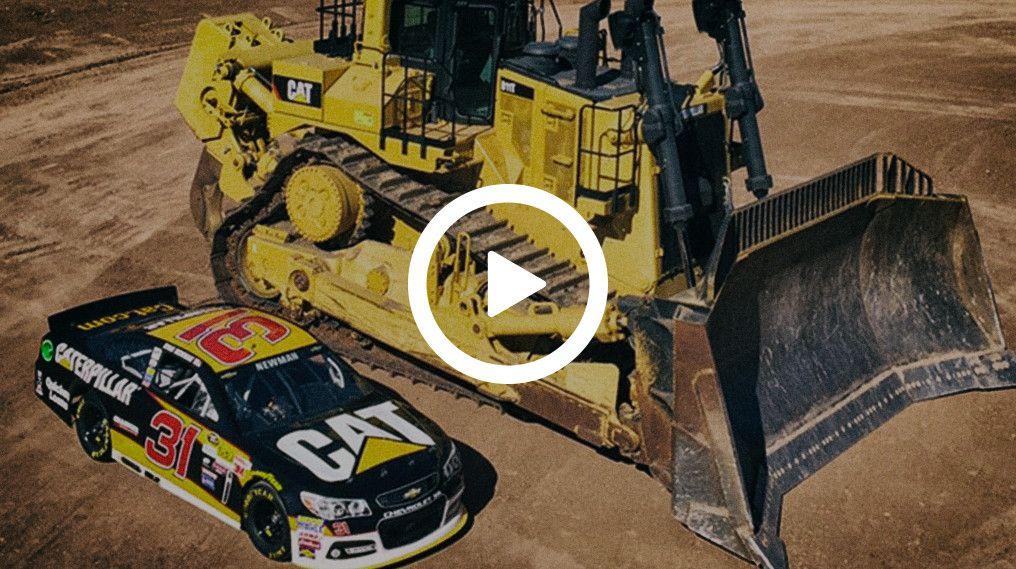 NASCAR Driver Experiences Autonomous Dozing
