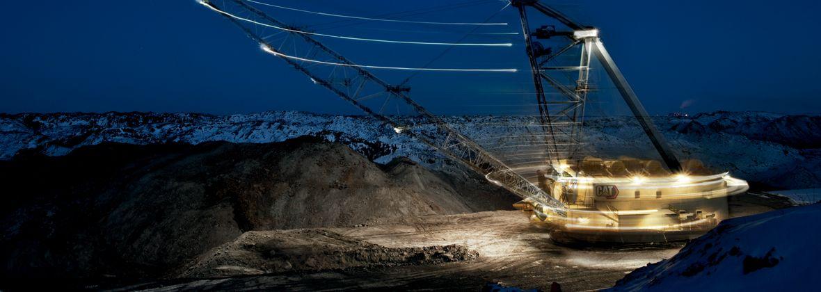 8750 mining shovel
