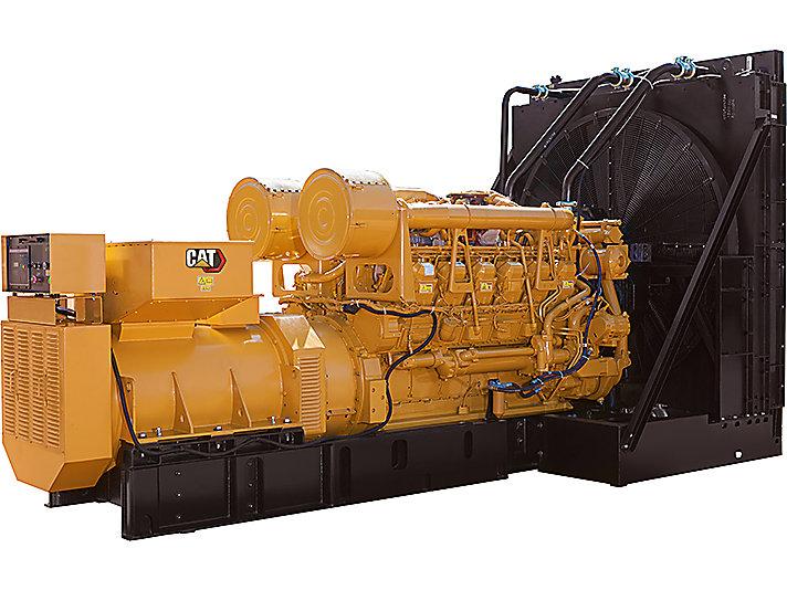 Groupes électrogènes diesel 3512B
