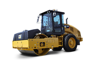 Cat tandem vibratory rollers caterpillar for 98 soil compaction