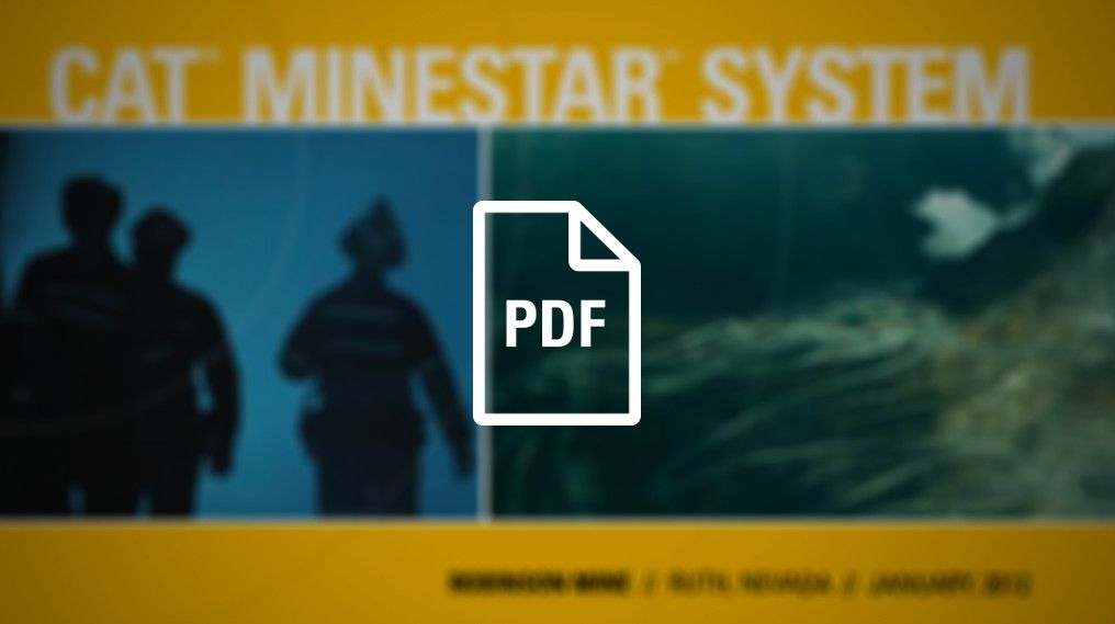 Minestar System: Robinson Mine