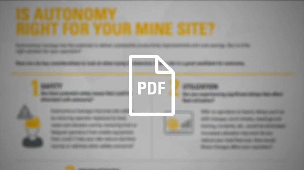Is Autonomy Right For Your Mine Site?