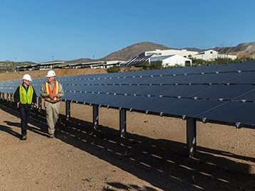 Cat® microgrid reduces power costs for off-grid tucson proving ground