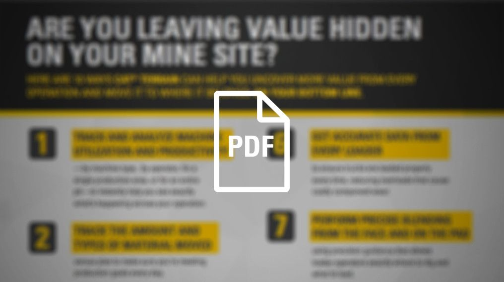 Are You Leaving Value Hidden On Your Mine Site?