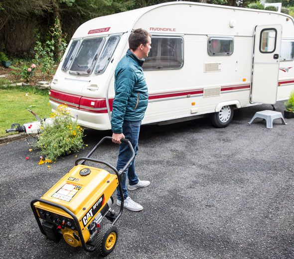 Groupes lectrog nes portatifs pour le camping et les - Groupe electrogene silencieux pour camping car ...