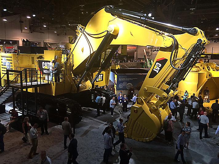 卡特彼勒亮相美国拉斯维加斯矿业展,展示产品之外的实力