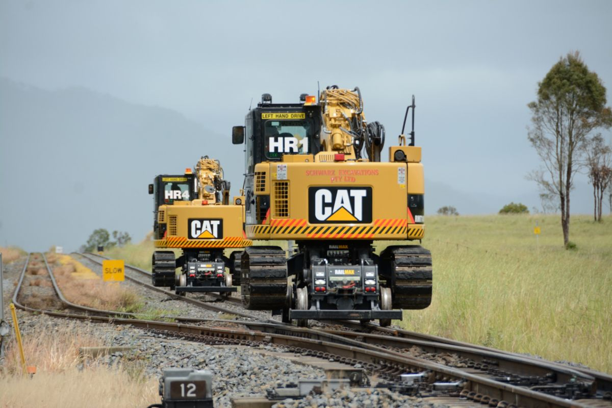 """The high rail machines have enabled us to get on track at the specified time; cut out a specific section of track bed within a certain amount time; and have it all completed and be off track quickly."""