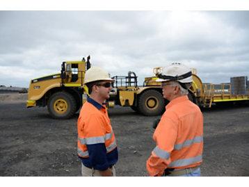 Huge Mine Requires Oversized Support Equipment