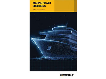 2018 Caterpillar Marine Selection Guide