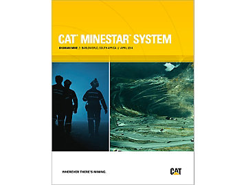 Khumani Mine And Cat® Minestar™ System