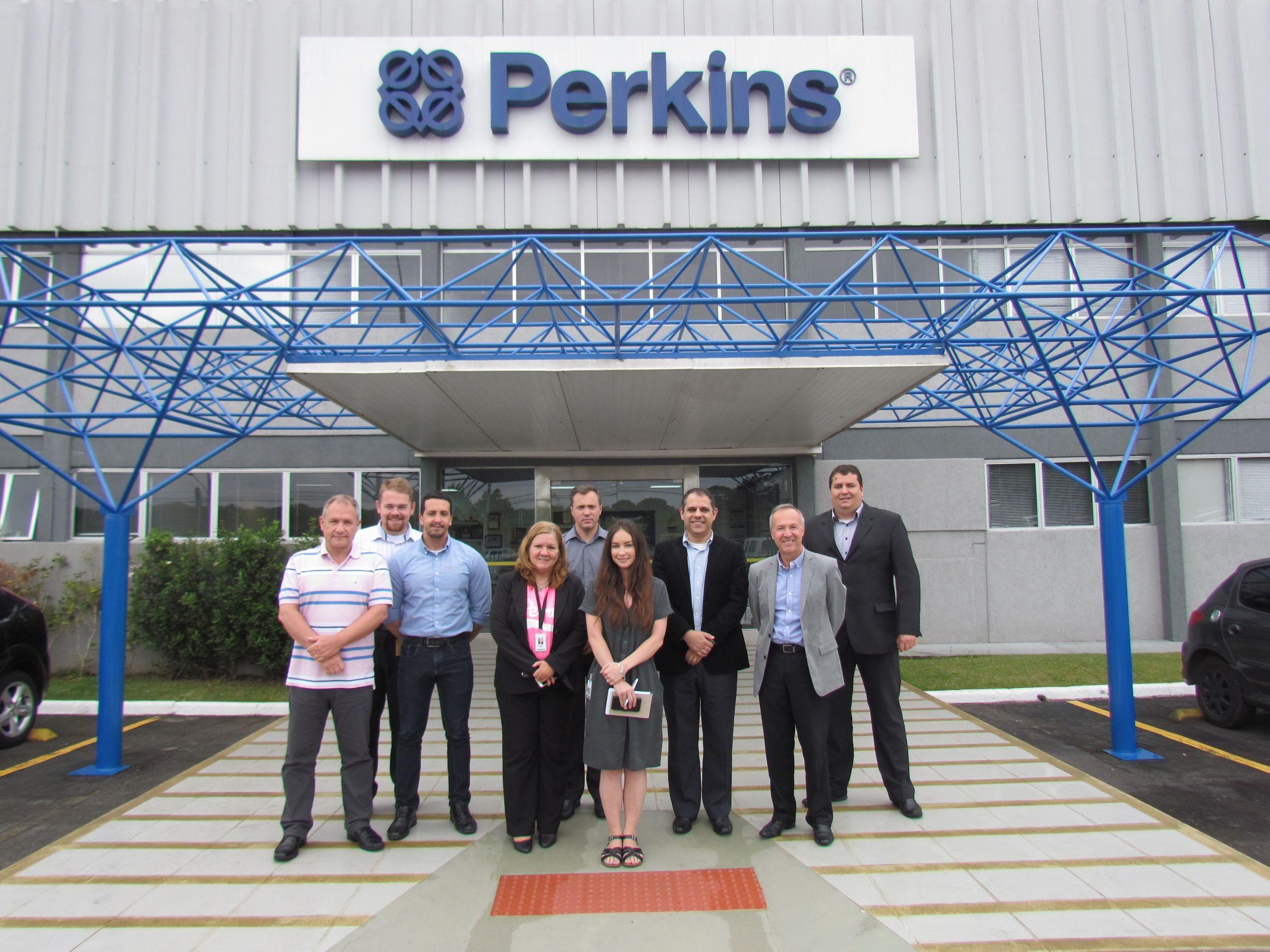 Perkins Curitiba facility hosts scholarship winner Olivia Midgley
