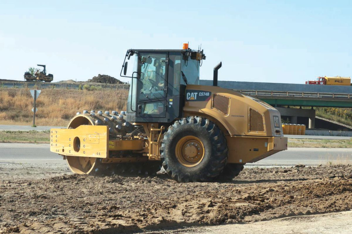 The on-off ramp in Altoona proved a great testing ground for Intelligent Compaction and MDP.