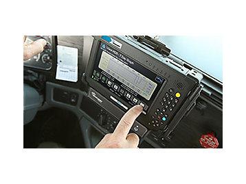 ELD in truck console