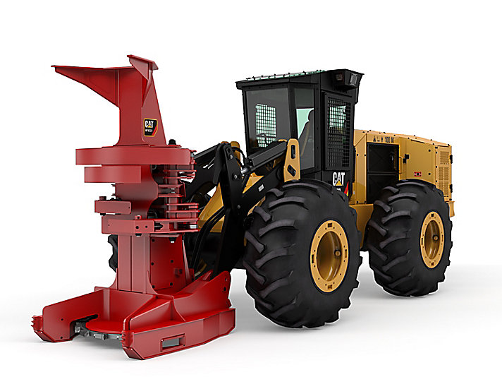 573D Wheel Feller Buncher