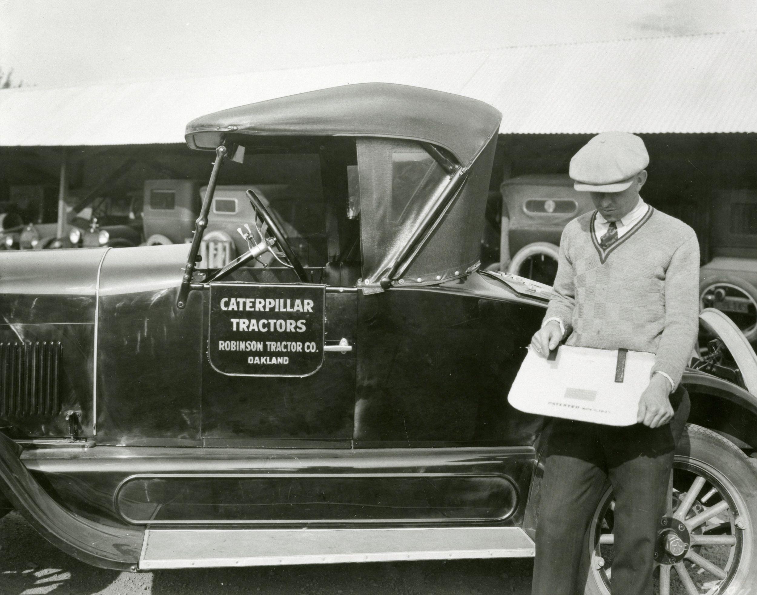 Caterpillar Dealer, Robinson Tractor Co., 1926.