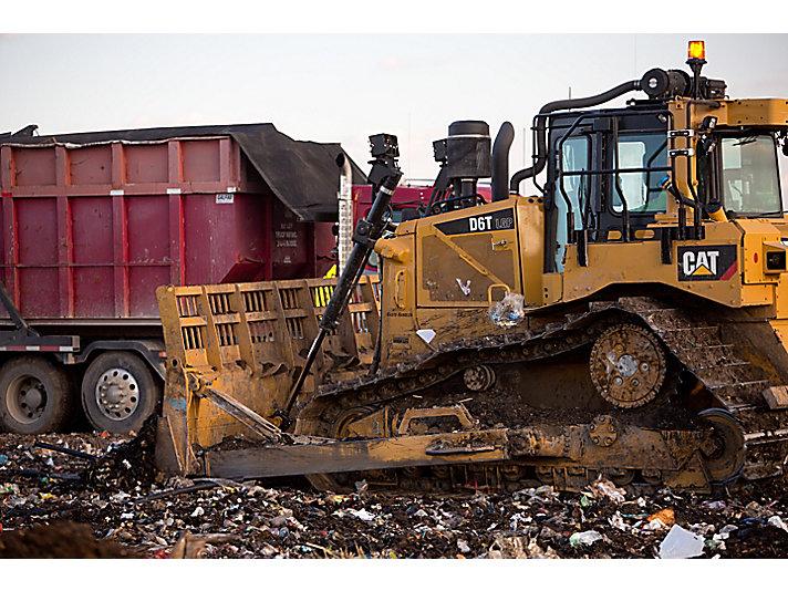 Manipulador de Residuos D6T