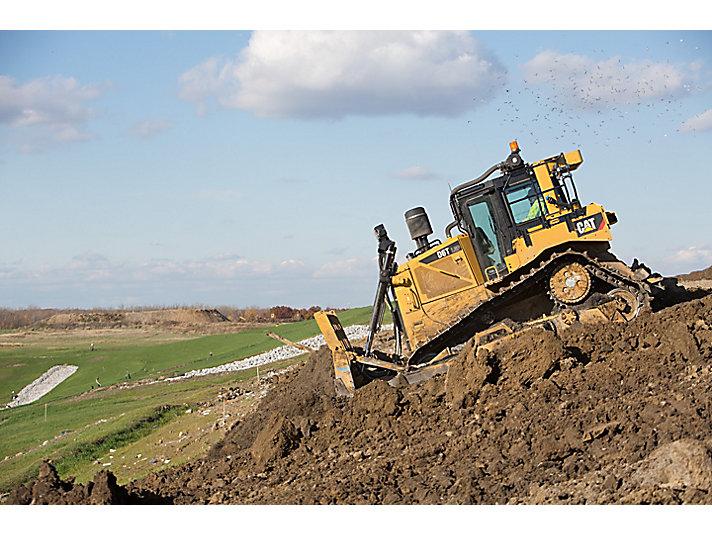 Bulldozer voor vuilstortplaatsen D6T WH