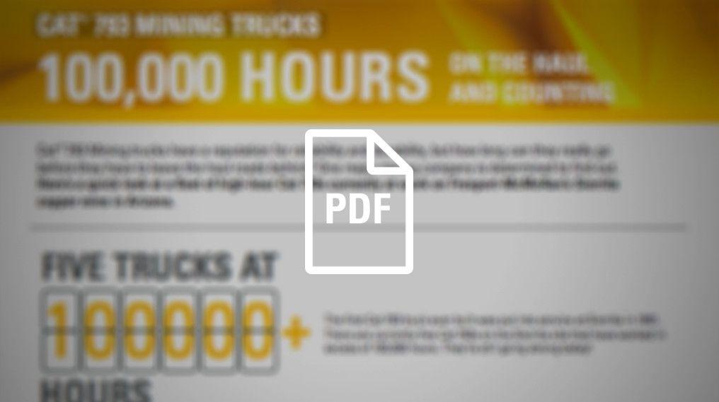 793 Mining Trucks - 100,000 Hours