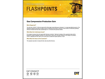 Gas Compression Production Gain