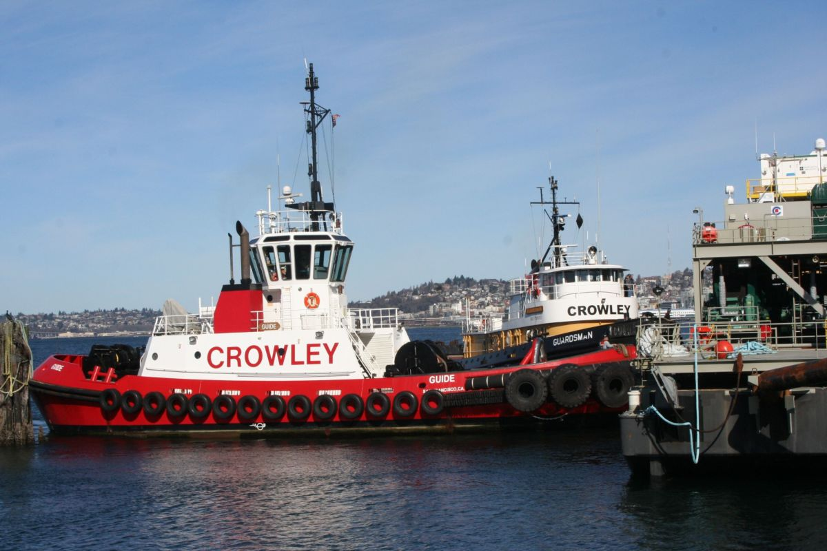 Crowley Maritime Saves Time and Money with Cat® Technology
