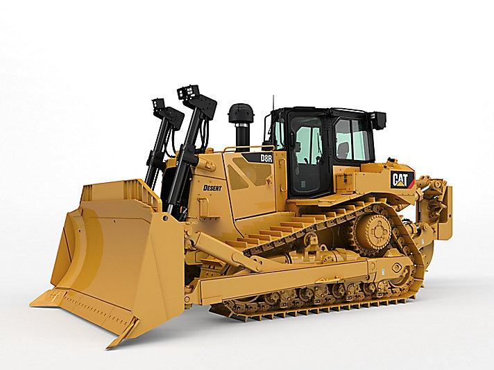 Gros tracteur D8R