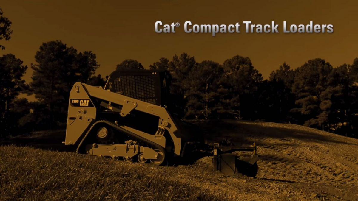Cat Compact Track Loader videos