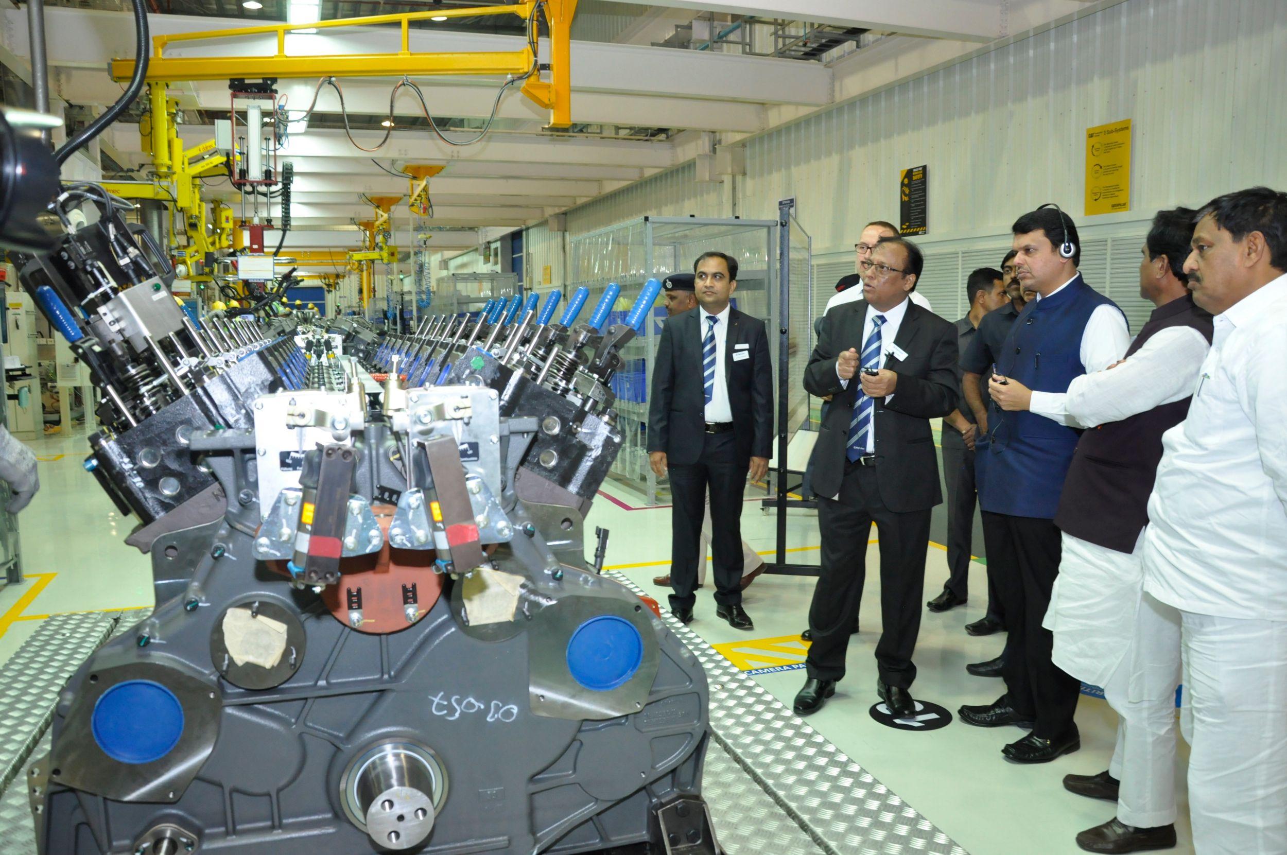 Aurangabad Engine Facility inaugurated by the Chief Minister of Maharashtra