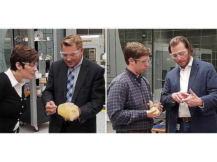 从零件到心脏模型:卡特彼勒扩展3D打印的应用
