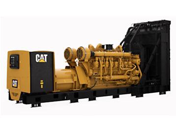 Cat 3516C generator set