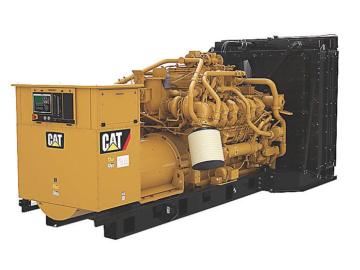 Grupo Electrógeno de Gas G3512