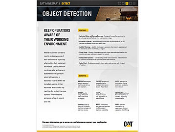 Cat® Object Detection At a Glance