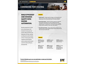 Cat® Command for Dozing At a Glance